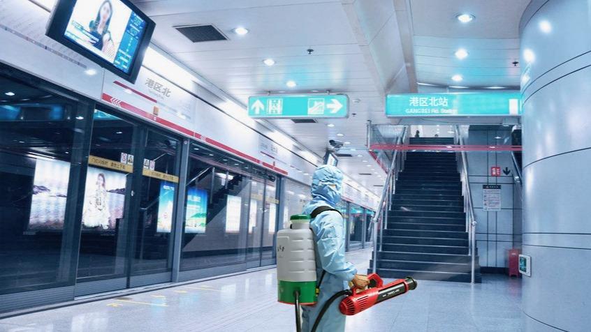 郑州二号线地铁站-电动喷雾器灭虫杀菌服务