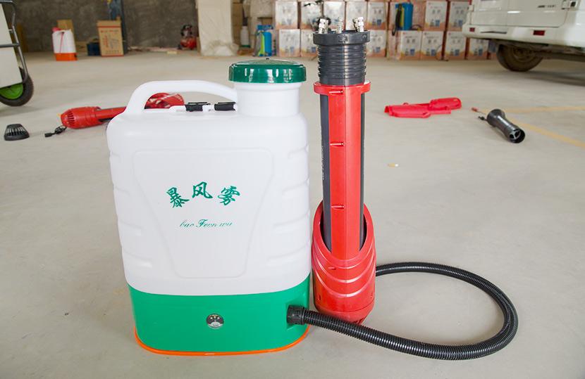 田帮手教你如何保养电动喷雾器电池的方法