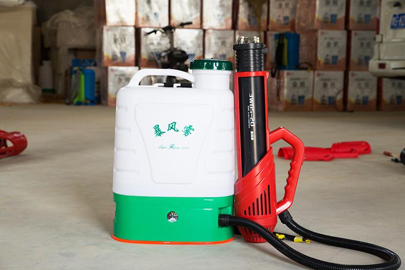 田帮手低容量喷雾器应掌握的技术要点和应注意的事项
