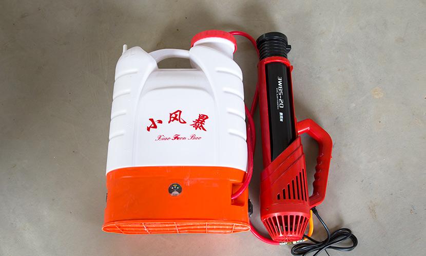 田帮手解析 选购品质好的消杀喷雾器应注意三点